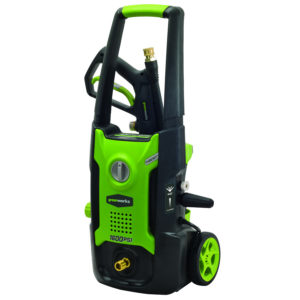 greenworks 1500-psi pressure cleaner