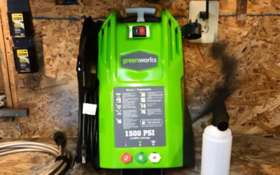 GreenWorks 1500 PSI Pressure Washer Review