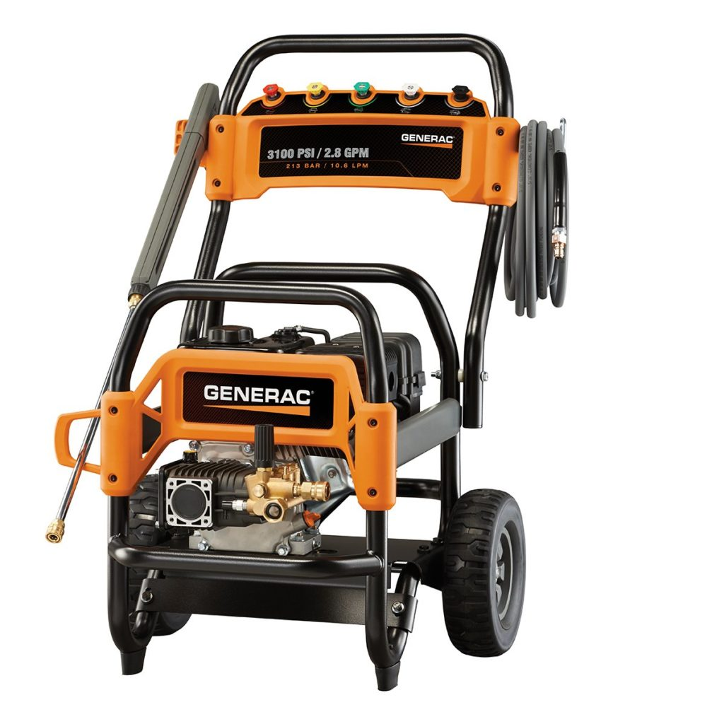 This is the Generac 6590 gas powered pressure washer