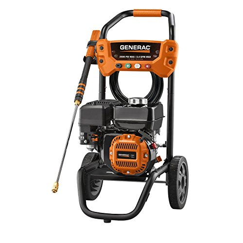 This is the Generac 7019 OneWash Gas Pressure Washer