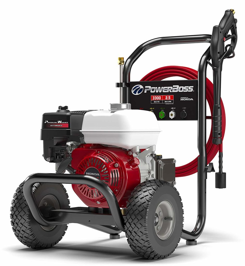 This is the PowerBoss Gas Pressure Washer