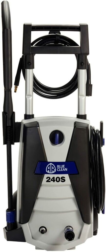 The 240S Electric pressure washer is the best pressure washer from AR Blue Clean
