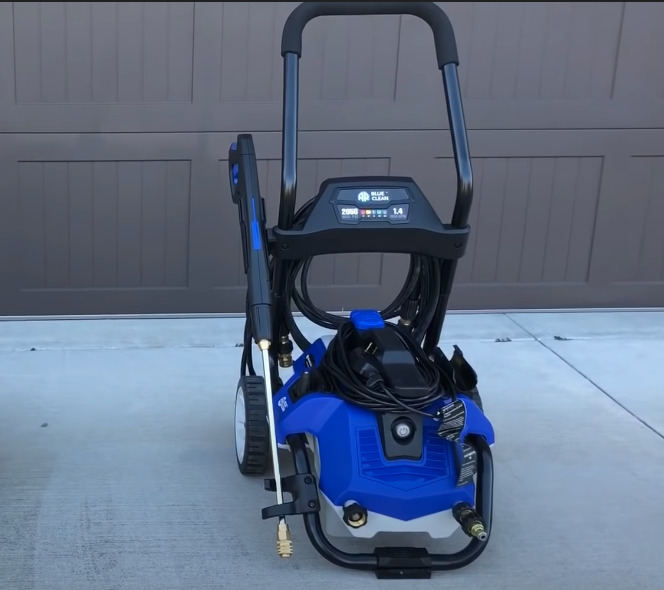 ar blue clean 2n1 pressure washer review