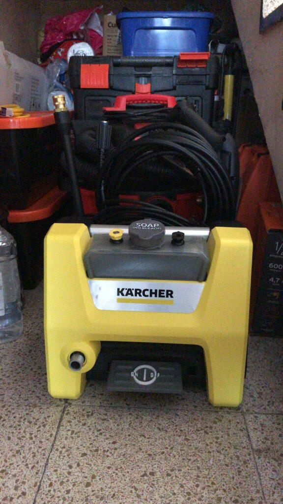karcher k1700 in storage space garage