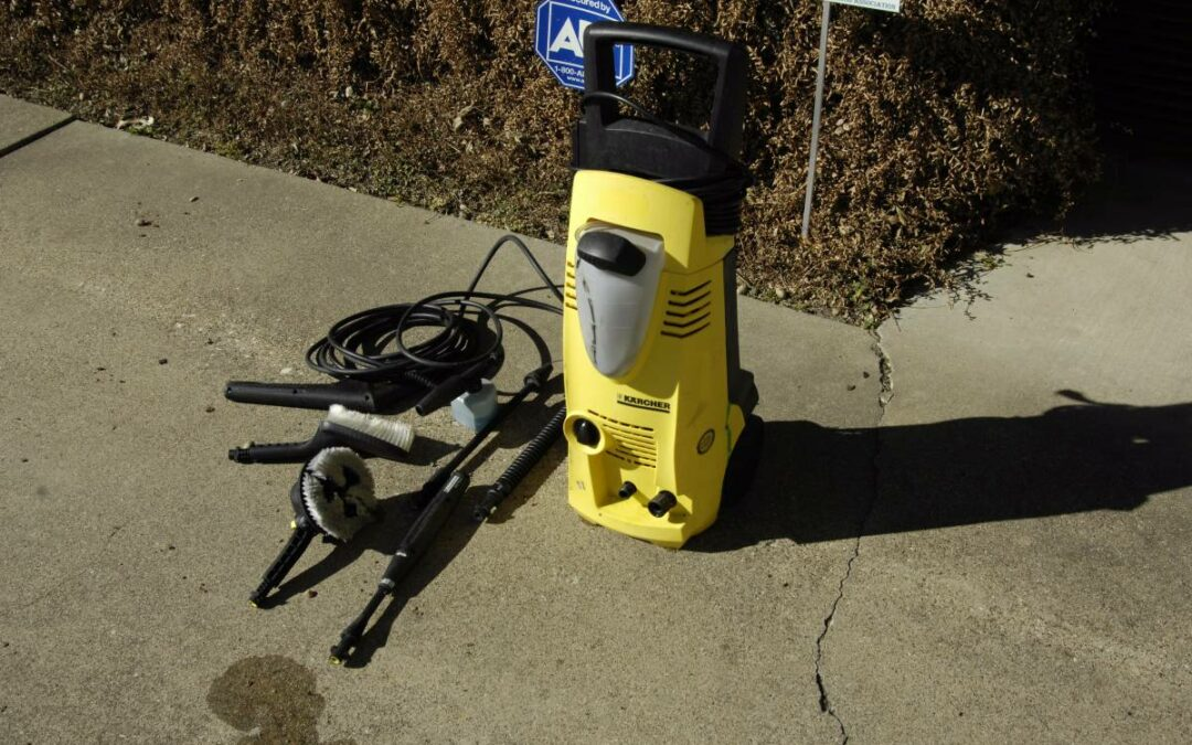 My Karcher K1700 Pressure Washer Review